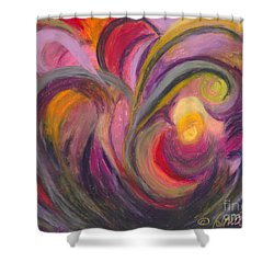My Joy Shower Curtain by Ania M Milo