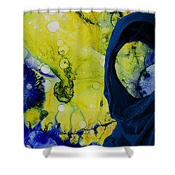 My Life Is My Life  Shower Curtain by Sir Josef - Social Critic -  Maha Art