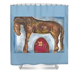 My Mane House Shower Curtain