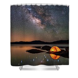 My Million Star Hotel Shower Curtain by Darren White