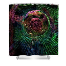 My Mind's Eye Shower Curtain