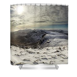 My Mountain Kitchen Shower Curtain