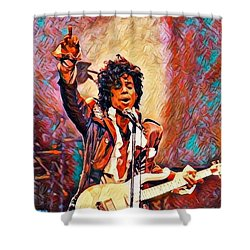 My Name Is    -  Prince Shower Curtain