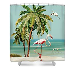 My Name Is Flame Shower Curtain