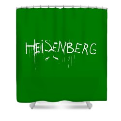 My Name Is Heisenberg - Graffiti Spray Paint Breaking Bad - Walter White - Breaking Bad - Amc Shower Curtain