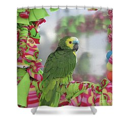 My Name Is Maurice Shower Curtain by Victoria Harrington