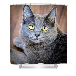 My Name Is Smokey Shower Curtain