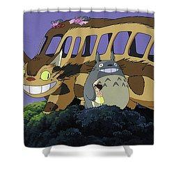 My Neighbor Totoro Shower Curtain