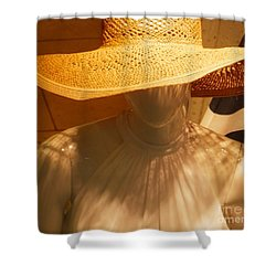 My New Summer Hat Shower Curtain