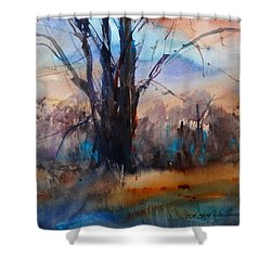 My Oak Tree Shower Curtain by Sandra Strohschein