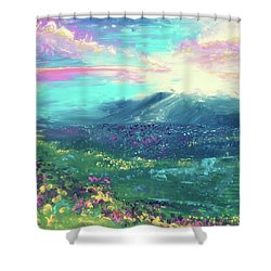 My Own Planet Shower Curtain