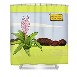 My Plant Is Thirsty Shower Curtain