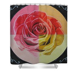 My Rose Shower Curtain