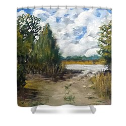 My Secret Boat Ramp Shower Curtain