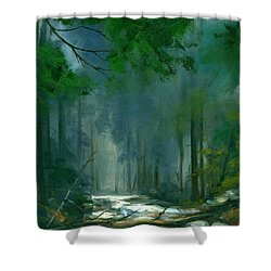 My Secret Place II Shower Curtain
