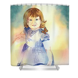 My Sister Shower Curtain by Tara Moorman