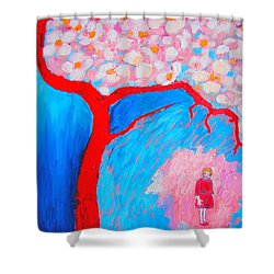 My Spring Shower Curtain by Ana Maria Edulescu