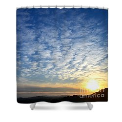A Lonely Place To Pray Shower Curtain