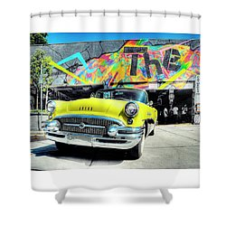 My Sweet Ride Shower Curtain by Greg Sigrist