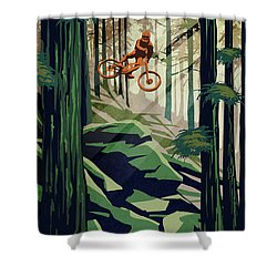 My Therapy Shower Curtain