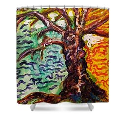 My Treefriend Shower Curtain by Mimulux patricia no No