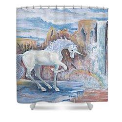 My Unicorn Shower Curtain