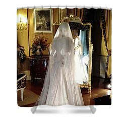 Shower Curtain featuring the photograph My Wedding Gown by Gary Smith
