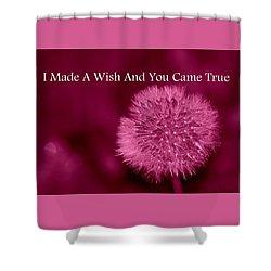 My Wish Shower Curtain