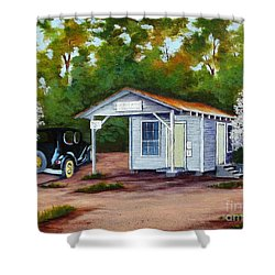 Myers Mill Post Office Shower Curtain