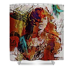 Myrrh Shower Curtain