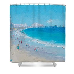 Myrtle Beach And Springmaid Pier Shower Curtain