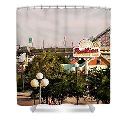 Myrtle Beach Pavillion Amusement Park Shower Curtain