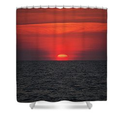 Myrtle Beach Sunrise 1 Shower Curtain