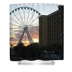 Myrtle Beach Sunset 2 Shower Curtain
