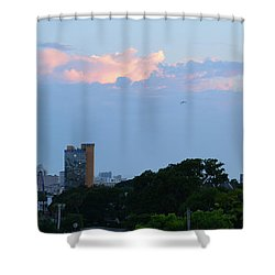 Myrtle Beach Sunset Shower Curtain