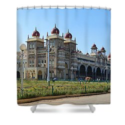 Mysore Palace Shower Curtain by Mini Arora