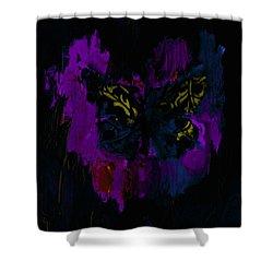 Mysterious By Lisa Kaiser Shower Curtain