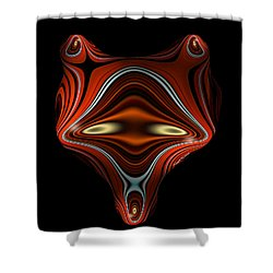 Mysterious Creature Shower Curtain by Thibault Toussaint