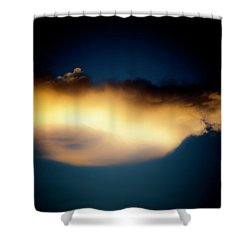 Mysterious Glow Shower Curtain