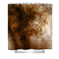 Mysterious Shower Curtain