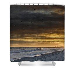 Mysterious Myrtle Beach Shower Curtain