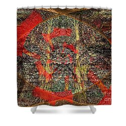 Mysterious Woods Shower Curtain by Kathie Chicoine