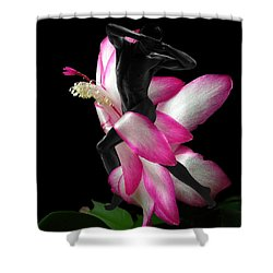 Mystery Man Shower Curtain by Torie Tiffany