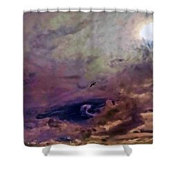 Shower Curtain featuring the photograph Mystery by Roberta Byram