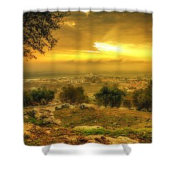 Mystery Sunrise Shower Curtain