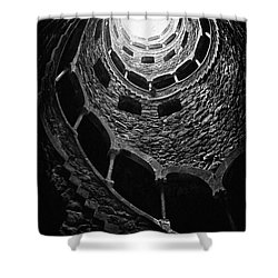 Mystery Tower Shower Curtain
