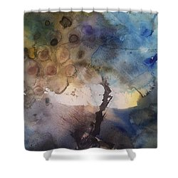Mystery Tree Shower Curtain