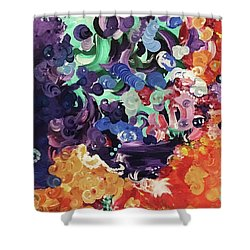 Mystic Beth  Shower Curtain