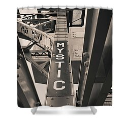 Mystic Connecticut  Shower Curtain
