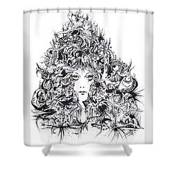 Mystic Shower Curtain